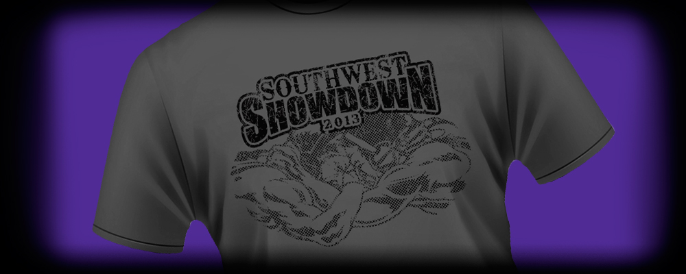 Screen Printing for the 2013 Southwest Showdown at GCU