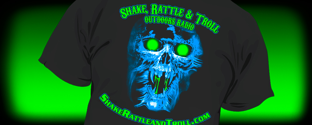 Screen Printing for Shake Rattle and Troll Outdoors Radio